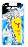 Populäre Wegwerfmann-dreifache Schaufel, die Rasiermesser (SL-3103, rasiert)