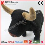 Crianças/miúdos/búfalo do animal enchido do brinquedo luxuoso do bebê