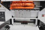 Máquina cortando da folha automática e vincando de carimbo quente