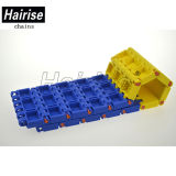 Hairise Flat Type Qnb Modular Conveyer Belt for Packaging Line