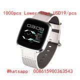G12 Slim Horloge IPS van 1.3 Duim het Scherm met de Herinnering van het Telefoongesprek van het Tarief van het Hart van de Steun van de Aanraking