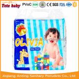 Fabricante descartável de superfície não tecido do guardanapo sanitário do tecido do bebê do preço do competidor