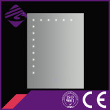 Mirror Bath Jnh177 Rectangle Verre LED DOT pour Hôtel / Accueil