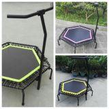Trampolín Springless hexagonal con el acoplamiento de salto de alta densidad de la base para la venta