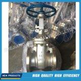 Válvula de Gaveta de Aço Inoxidável industrial com rebordo