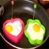 Кухонные инструменты форму цветка Non-Stick силиконового герметика жареных яиц пресс-формы
