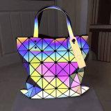 De lichtgevende Zak van de Vrouwen van Pu Geometrische Ruitvormige (A0101)