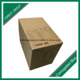 브라운 Recycable 판매를 위한 물결 모양 출하 판지 상자