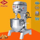 30 40 60 litros de mezclador planetario del equipo comercial de la panadería
