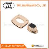 Blocage de torsion de blocage de spire d'ajustage de précision en métal d'accessoires de sac pour le sac à main