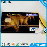 Batería delgada de la tarjeta de crédito de la potencia del OEM
