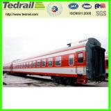 Поезд экипажа автомобиля тропки кареты Passenge обедая автомобиля железнодорожный
