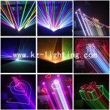 lumière laser programmable de la couleur 3W multi