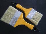 Pinceau normal de brin avec la couleur en bois de double de traitement
