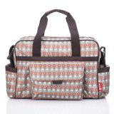 Vente en gros Designer Mummy Travel Cotton / Duffle Baby Changing Nappy Diaper Bags