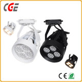 Éclairage de piste à LED noir blanc CREE COB de haute qualité