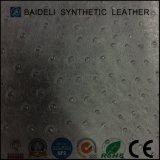 Cuoio sintetico dell'unità di elaborazione dello struzzo per l'indumento e sacchetti con resistenza al fuoco