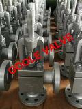 Winkel-Typ Kugel-Ventil (GAJ44H) ANSI-Wcb