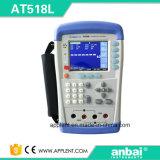 Medidor Handheld do ohm com escala de medição do ohm de 10micro Ohm-200k (AT518L)