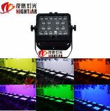6en1 20pcs*15W LED de iluminación de lavado exterior