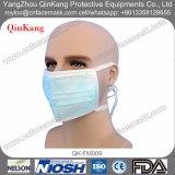 Chirurgische blaue Wegwerfgesichtsmasken mit Gleichheit