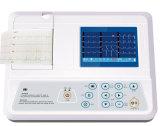3,5 pulgadas barato portátil de tres canales de la máquina de ECG para la venta Sun-8031