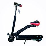Dobragem em duas rodas de bicicletas eléctricas com dois Seat para adultos