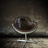 Кожи металла Arne Jacobsen стул яичка всемирной популярной красный