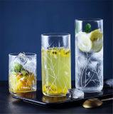 Échantillon gratuit de verrerie de cristal de l'eau potable de la forme d'oeufs Tumbler cuvette en verre