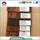 Revestimento de madeira recicl da prancha do PVC