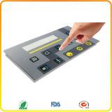 Interruptor de membrana impermeável Teclado com botão embutido Membrana Touchpad