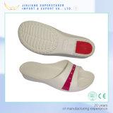 De Schoenen van de Pantoffel van de Vrouwen van de Dia van EVA met RubberHiel en de Hogere Decoratie van de Bloem