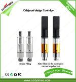 高品質の電子タバコのカートリッジ大麻油0.5ml 510 Cbdの噴霧器