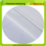Fusible Weft Insert Circular Knitted Tecido Interlining for Garments
