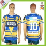 Uniforme personnalisé Sublimated Hommes Rugby Jersey et Shorts pour Rugby Sets Team