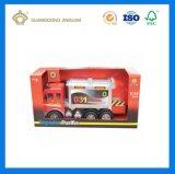 Impreso de Color personalizado de embalaje plegable juguete envases de cartón ondulado Fuerte (Ventana)