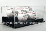 Funda de acrílico transparente para béisbol