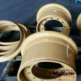 ブルドーザーの車輪のローダーの車輪の鋼鉄コンパクターの車輪