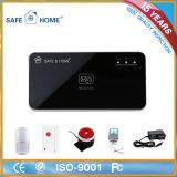 Sistema de alarme de vigilância anti-roubo da APP GSM inteligente para segurança doméstica
