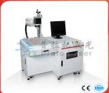 Máquina de grabado del laser de la fibra para el metal y el no metal
