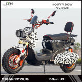 Estilo da UE 1500W Hub Motor Scooter elétrico