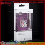 Accesorios impresos personalizados del teléfono móvil Caja de embalaje con la ventana clara de PP / PVC