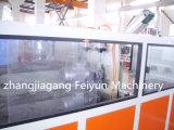 El plástico de la línea de extrusión de tubo de PVC doble