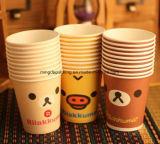 Envases de bebidas, vasos de papel de pared simple