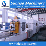 Línea de producción plástica de tuberías de agua Línea de extrusión de tuberías de PVC