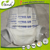 Pannolino adulto di marca felice morbida del cotone in commercio all'ingrosso