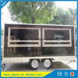 Camions mobiles de nourriture de hot-dog de chariot de crême glacée