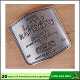 돋을새김된 금속 포도주 레이블 또는 금속 병 레이블 알루미늄 레이블