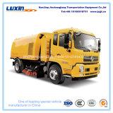 Camions de nettoyage de route, camions rapides de trottoir avec le grand distributeur de capacité à vendre