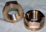 Brass personalizada mecanizado de piezas de montaje
